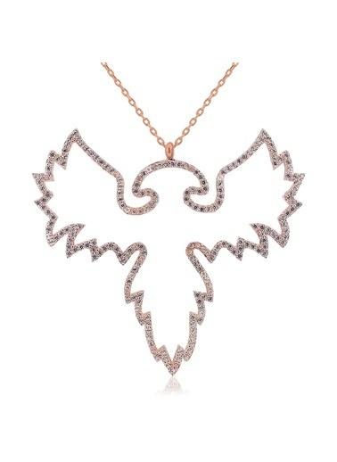 Dev Kanatlı Kolye-Söğütlü Silver